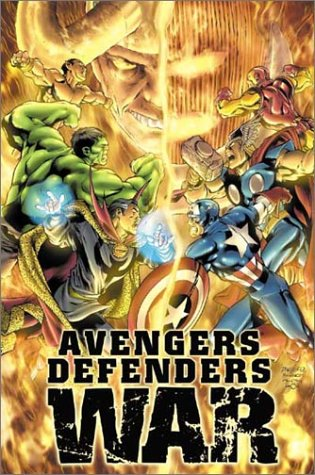 Avengers / Defenders War Cover