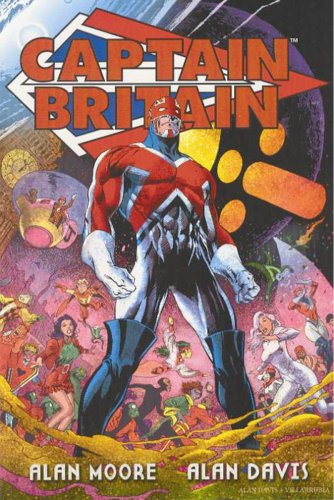 Captain Britain Vol. 2 Cover