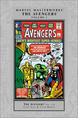 Marvel Masterworks: The Avengers Vol. 1 Cover