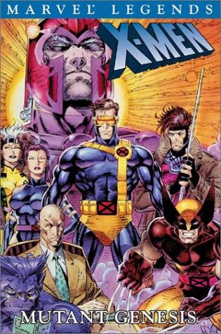 X-Men Legends: Mutant Genesis Cover
