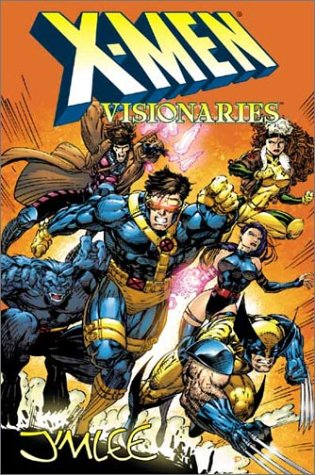X-Men Visionaries: Jim Lee Cover
