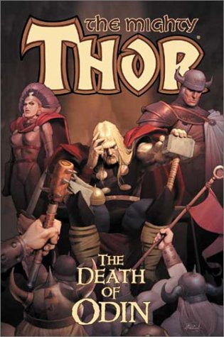 Thor Vol. 1: The Death Of Odin Cover