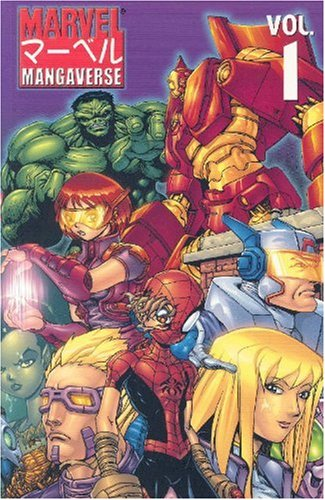 Marvel Mangaverse Vol. 1 Cover