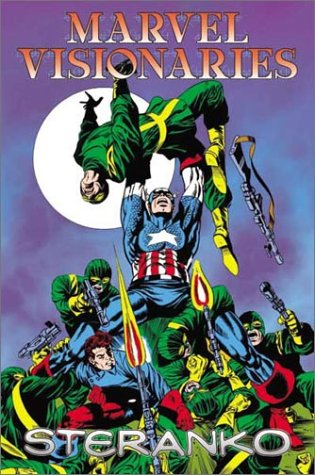 Marvel Visionaries: Jim Steranko Cover