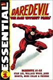 Essential Daredevil: The Man Without Fear