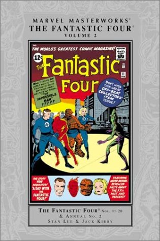 Marvel Masterworks: Fantastic Four Vol. 2 Cover