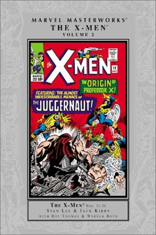Marvel Masterworks: The X-Men Vol. 2 Cover