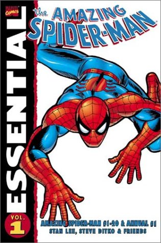 Essential Spider-Man Vol. 1 Cover