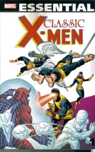 Essential Classic X-Men Vol. 1 (formerly Uncanny X-Men Vol. 1)  Cover
