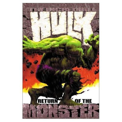 Incredible Hulk Vol. 1 Cover