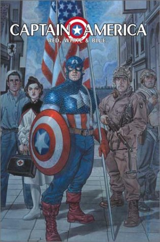 Captain America: Red, White And Blue Cover