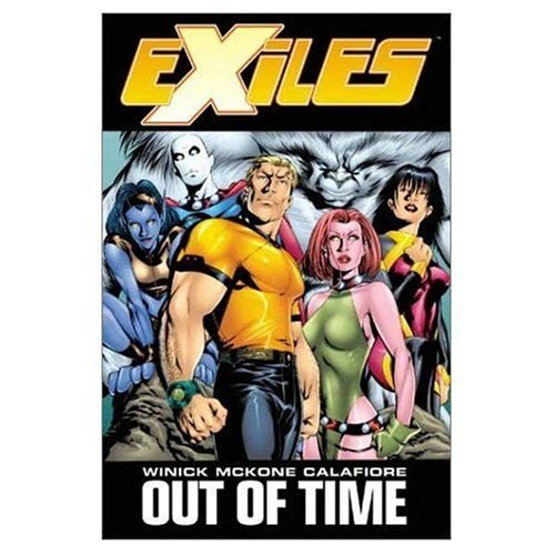 Exiles Vol. 3: Out Of Time  Cover
