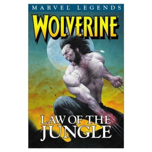 Wolverine Legends Vol. 3: Law Of The Jungle Cover