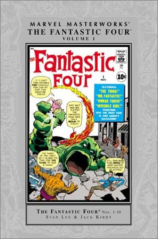 Marvel Masterworks: Fantastic Four Vol. 1 Cover
