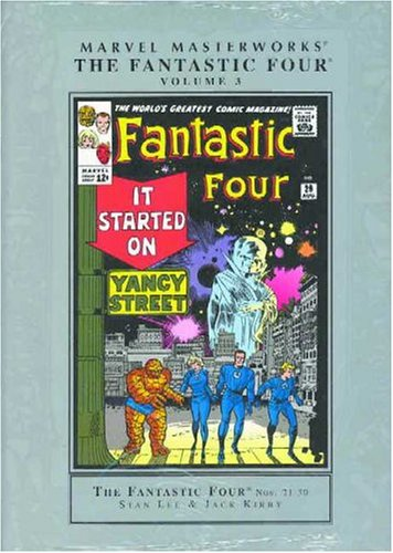 Marvel Masterworks: Fantastic Four Vol. 3 Cover