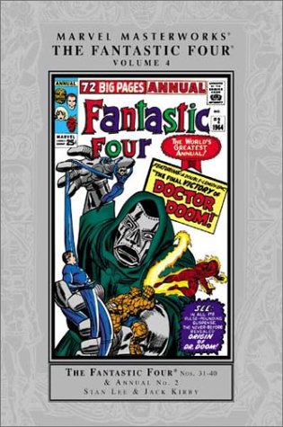 Marvel Masterworks: Fantastic Four Vol. 4 Cover