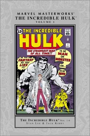 Marvel Masterworks: The Incredible Hulk Vol. 1 Cover