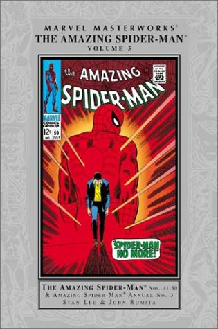 Marvel Masterworks: The Amazing Spider-Man Vol. 5  Cover