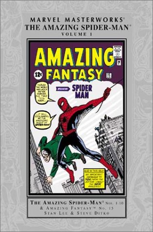 Marvel Masterworks: The Amazing Spider-Man Vol. 1 Cover