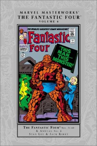 Marvel Masterworks: Fantastic Four Vol. 6 Cover