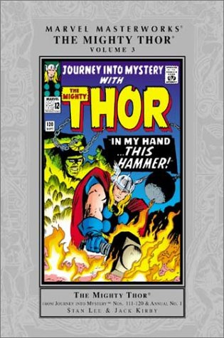 Marvel Masterworks: The Mighty Thor Vol. 3 Cover