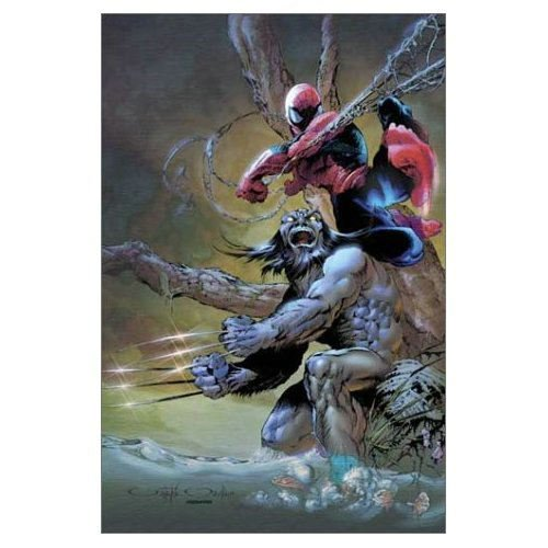 Spider-Man Legends Vol. 4: Spider-Man / Wolverine Cover