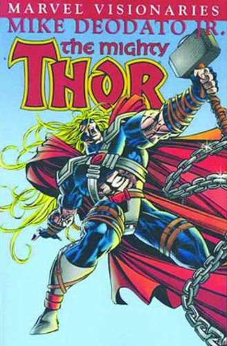 Thor Visionaries: Mike Deodato Jr. Cover