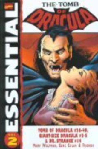 Essential The Tomb Of Dracula Vol. 2  Cover