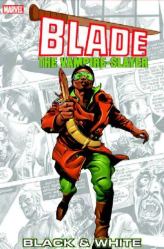 Blade: Black And White Cover