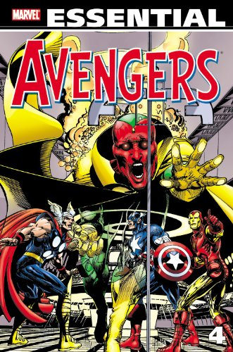 Essential Avengers Vol. 4 Cover