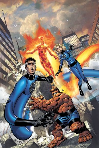 Fantastic Four Vol. 5: Disassembled  Cover