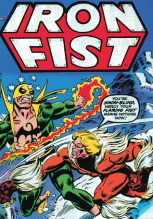 Essential Iron Fist Vol. 1 Cover