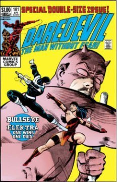 Daredevil Vs. Bullseye Cover