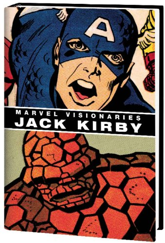 Marvel Visionaries: Jack Kirby Vol. 1 Cover