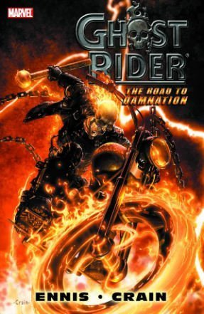 Ghost Rider: The Road To Damnation Cover