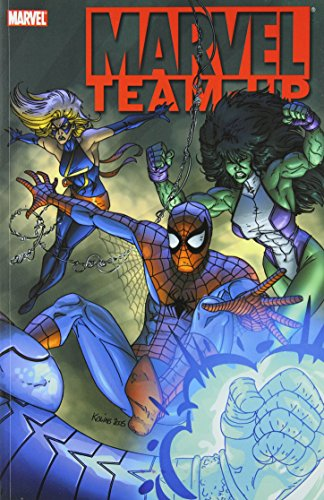 Marvel Team-Up Vol. 2: Master Of The Ring Cover