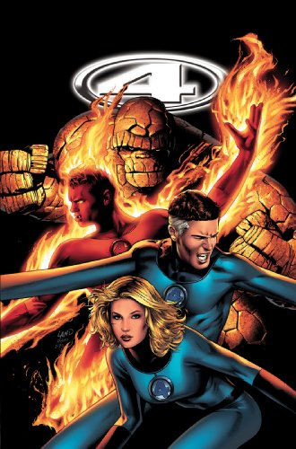 Marvel Knights 4 Vol. 3: Divine Time Cover