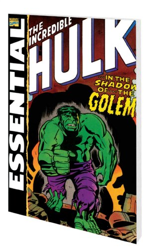 Essential Incredible Hulk Vol. 3 Cover