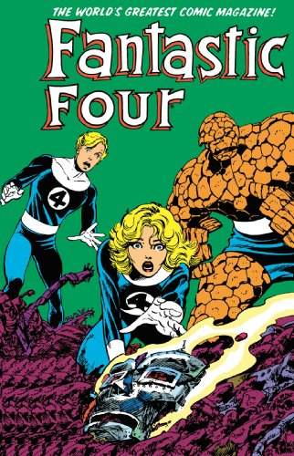 Fantastic Four Visionaries: John Byrne Vol. 4 Cover