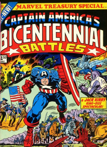 Captain America: Bicentennial Battles Cover