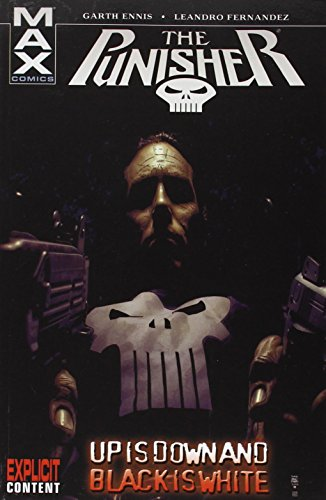 Punisher MAX Vol. 4: Up Is Down And Black Is White Cover