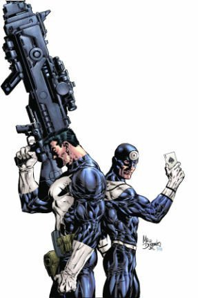 Punisher Vs. Bullseye Cover