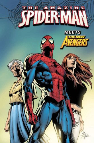 Amazing Spider-Man Vol. 10: New Avengers Cover