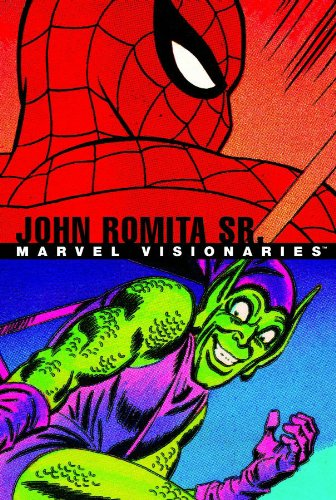Marvel Visionaries: John Romita Sr. Cover
