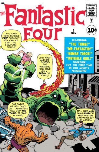 Best Of The Fantastic Four Vol. 1 Cover