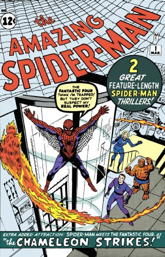 Fantastic Four / Spider-Man Classic Cover