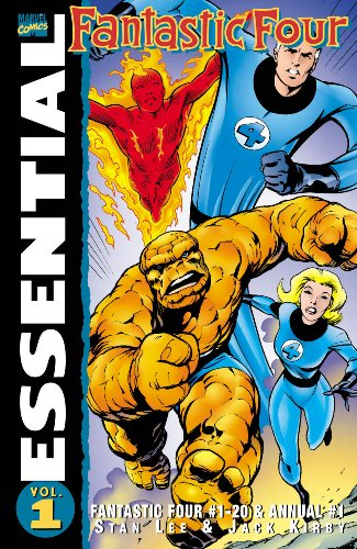 Essential Fantastic Four Vol. 1  Cover