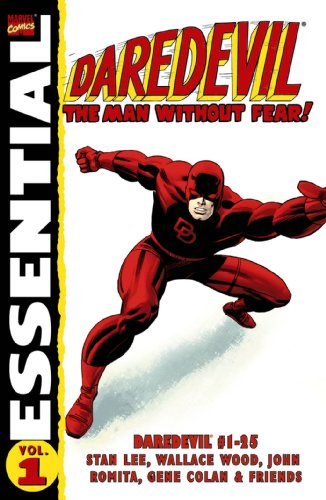Essential Daredevil Vol. 1  Cover