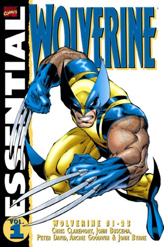 Essential Wolverine Vol. 1  Cover