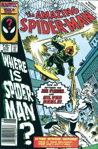 Spider-Man vs. Silver Sable Cover